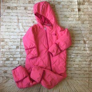North Face Infant 18-24 Months Snowsuit Bunting